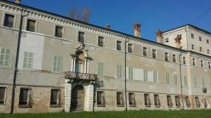 Facciata della villa San Giacomo a Russi di Romagna