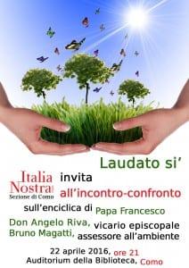 LAUDATO SI' - Confronto sull'Enciclica