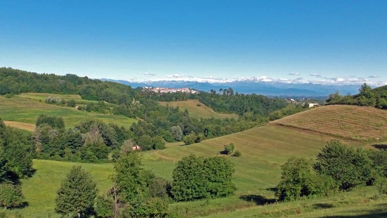 Paesaggio mondov italia nostra for Piani di serra in collina