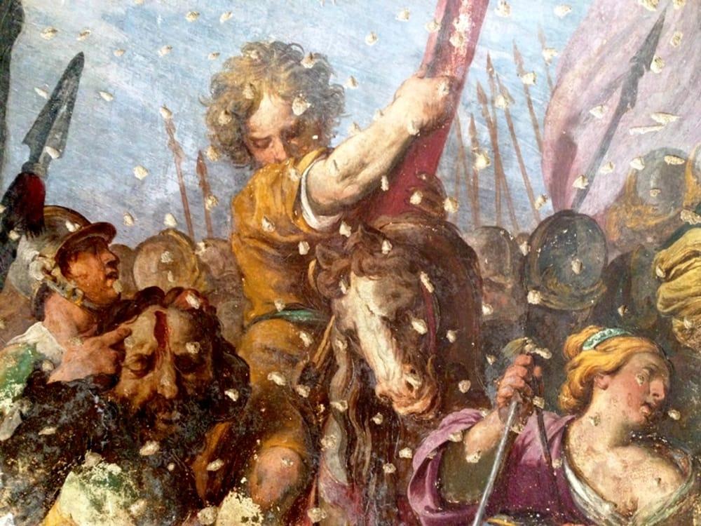 PIETRO-NOVELLI-Il-trionfo-di-Davide-_-Chiesa-dellOriglione_-part_-2