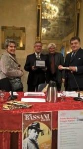 da sinistra, Alessandra Mottola Molfino, Paolo Conti, Andrea Malacarne e Marco Parini